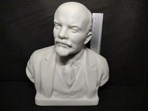 USSR Russian LZFI Leningrad Porcelain - Parian Ware Bust of Lenin