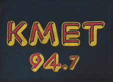 """Brand New"" KMET 94.7 T SHIRT < STONED NAVY BLUE >  EXTRA EXTRA LARGE < XXL / 2X"