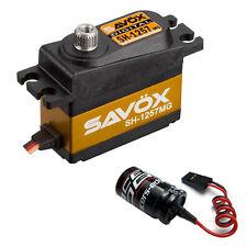 Savox SH-1257MG Super Velocidad Metal Gear Mini Digital Servo + Glitch Buster