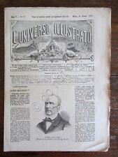 Rivista Universo Illustrato 1871 17 Saverio Mercadante Moigno Niccolò Tommaseo