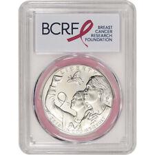 2018-P US Breast Cancer Commem BU Silver Dollar PCGS MS69 First Strike Pink