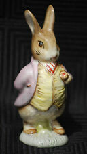 "Royal Albert Beatrix Potter Peter Rabbit Figure - ""Mr Benjamin Bunny""."