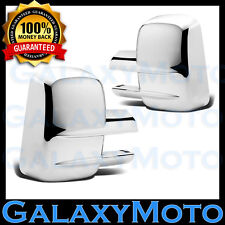 03-15 2013 GMC Sierra+HD Triple Chrome Plated Towing ABS Mirror Cover