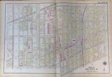 1907 EAST FLATBUSH KENSINGTON BROOKLYN NEW YORK WEST ST - OCEAN AVENUE ATLAS MAP