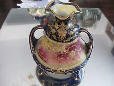SIMPLY GORGEOUS ANTIQUE NIPPON MORIAGE GILT PORCELAIN  VASE