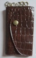 Vintage Dearth Funeral Home Advertising Folding Key Case