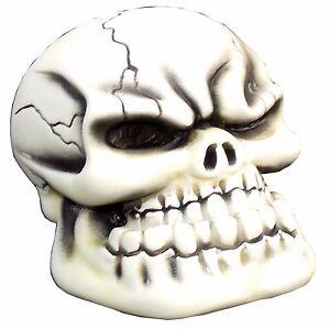Bone Punchy Skull shift knob M10x1.50 thd U.S MADE