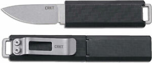 """CRKT 2425 Scribe Fixed Blade, 1.74"""", Stonewshed Plain Blade  **NEW**"""