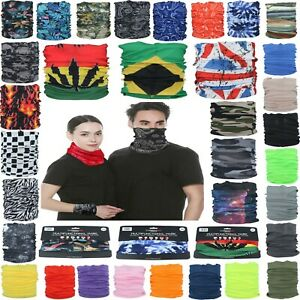 Multifunctional Neck Snood Hairband Tube Gaiter Sports Running Headband Unisex