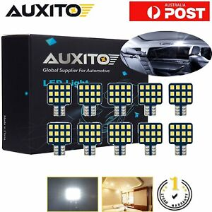 AUXITO T10 LED Caravan Camper Trailer Wedge RV Interior Lights Globe 12V 10PCS
