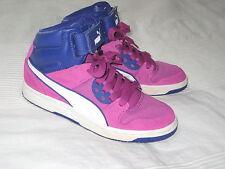 Puma Rebound Street CVS Jr SNEAKER Knöchel SCHUHE lila pink Gr. 37 Sneakers