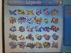 All 54 Legendary Pokemon Shiny Omega Ruby Alpha Sapphire ORAS Sun Moon Mew 3DS