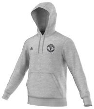 Mens Adidas Hoody Large Manchester United Man Utd Sweater Top Tracksuit