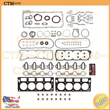 Full Head Gasket Set Kit For 04-09 Cadillac Chevy GMC Hummer 6.0L V8 Multilayer