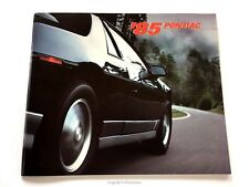1985 Pontiac 74-page Brochure Catalog Grand Prix Am Firebird TransAm 6000 Fiero