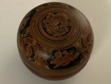 Chinese Lacquer Dragon Design Trinket Box