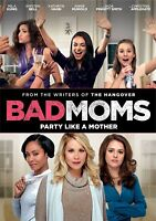 Bad Moms (DVD, 2016) New!! Free Shipping!!