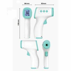 Termometro Laser Digitale ad Infrarossi Lcd Senza Contatto Per Febbre Corporea