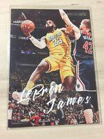 2019-20 Panini Chronicles Luminance Lebron James Card #162 Lakers