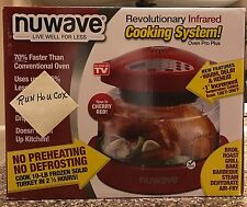 NuWave Pro Plus RED Countertop Oven NEW IN BOX