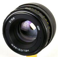 Helios-44M 58mm 50mm f/2 Zenit lens M42 biotar for Canon 6D 70D 7D 5D 60D 1D
