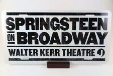 Bruce Springsteen License Plate. Printed on Metal.