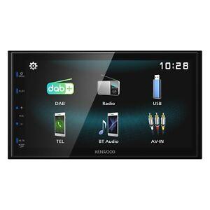 "DMX125DAB KENWOOD 6.8"" DAB+ Bluetooth Android Mirroring iPhone Music AV System"