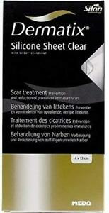 Dermatix Silicon Sheet Clear 4x13cm for Scars and Burns