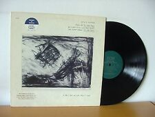 """DAVID BYRNE """"Music For The Knee Plays"""" PROMO LP 1985 (ECM 25022) Talking Heads"""