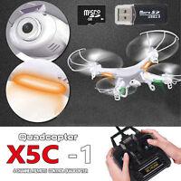 X5C-1 Explorers 2.4Ghz 4CH 6Axis Quadcopter Drone RC Dron 2.0MP RTF W/ HD Camera
