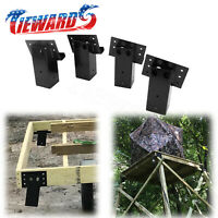 4 PCS Brackets Elevator For Hunting Blind Tower Platform Sturdy Deer Stand NEW