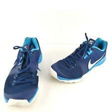 Nike Mens Training Running Shoes Blue Smesh Dual Fusion Sz US 8.5 | EUR 42