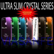 Cover Bumper Custodia Per iPhone 4S 4 Trasparente Crystal Rigida Slim Protettiva