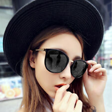 Retro Aviator Sunglasses Mirror Glasses UV400 Protection Oversized Lens Eyewear