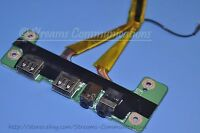 TOSHIBA Satellite P505 P505-S8980 USB Port Board + Audio Jack w/ Cable
