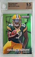 Davante Adams 2014 Panini Prizm Green Prizms Rookie BGS 9.5 Gem Mint