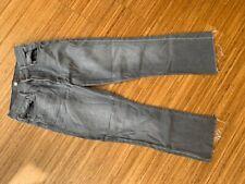 original ★ MOTHER ★ Jeans grau 26 NP 259,- The Insider Crop Fray
