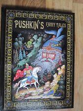 Pushkin's Fairy Tales Palekh Paintings Russian english edition