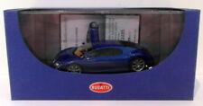 Véhicules miniatures bleus AUTOart pour Bugatti