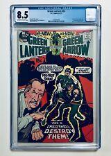 GREEN LANTERN #83, Denny O'Neil, with Art by NEAL ADAMS, 1971, CGC 8.5, VF+