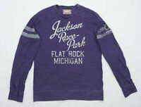 Scotch & Soda Mens Size L Cotton Purple Jumper