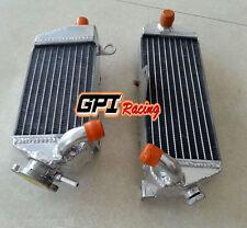 L&R FOR Kawasaki KDX200 KDX 200SR 1989-1994 1990 1991 Aluminum  Radiator