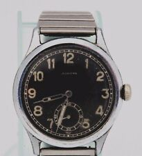 "WWII ERA ""LEONIDAS"" MOVEMENT #1130 WIND-UP- RUNS AS IT SHOULD-36 MM-MILITARY"
