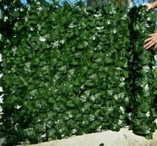 More details for 3m artificial hedge ivy leaf garden fence roll privacy screen balcony wall cover