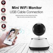 Wireless 720P Pan Tilt WiFi Baby Monitor Home Security IP Camera IR Night Vision