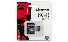 SECUR DIGITAL CARD 8GB CLASS4 KINGSTON