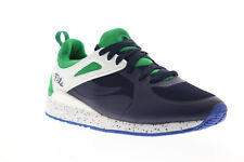 Fila Overpass 2.0 Fusion Mens Blue Mesh Low Top Lace Up Sneakers Shoes 10