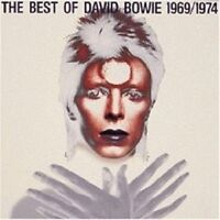 """DAVID BOWIE """"THE BEST OF 1969/1974"""" CD NEUWARE"""