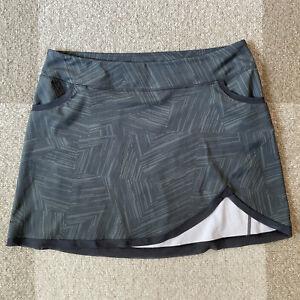 Pearl Izumi Sugar Skirt MTB Womens XXL No Chamois Gray Stretch Bike Cycling