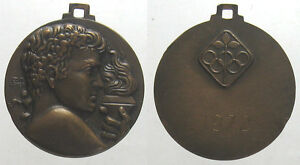 *TRIU* MEDAGLIA 1972 PER LE OLIMPIADI inc. AFFER in bronzo